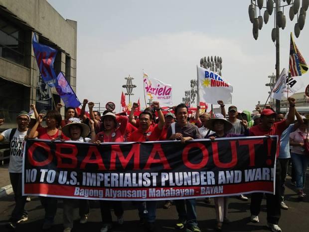 Bayan Muna against Obama