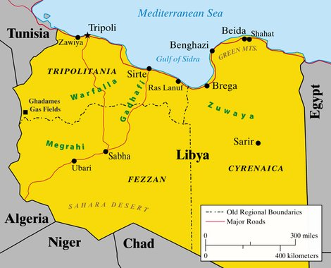 Libya-Map1