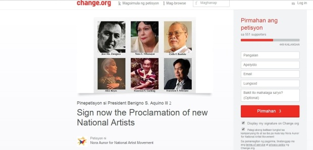online petition 1