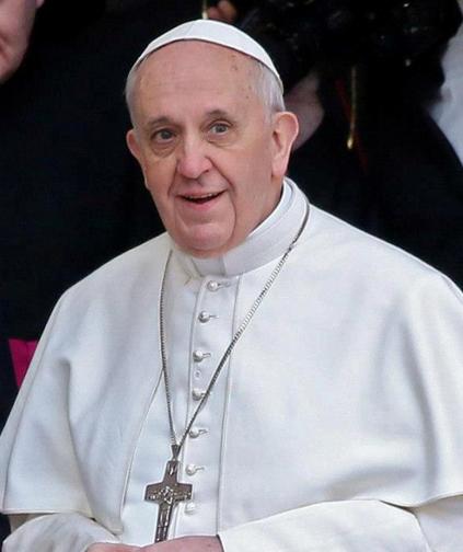 Pagdating ni pope francis