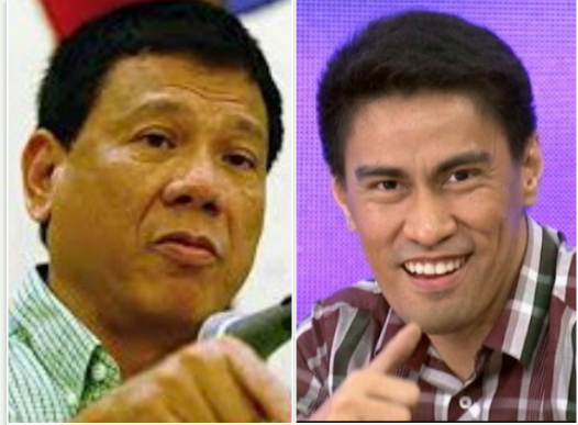 Duterte and Bautista