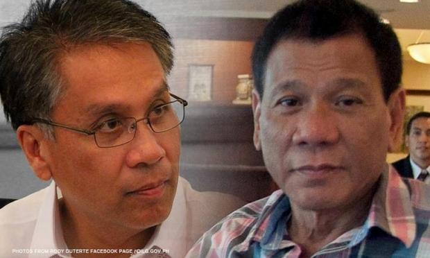 Mar Roxas Digong Duterte