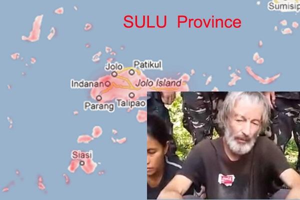 Sulu map