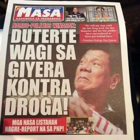 Duterte newspaper
