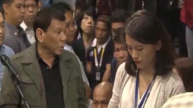 UTOS NI DUTERTE | Rappler bawal na sa Malacañang
