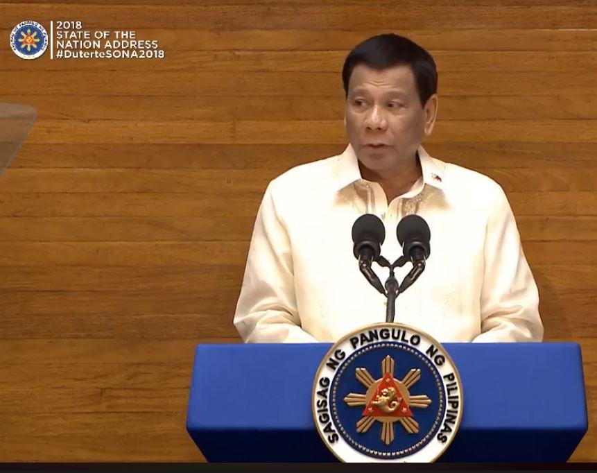 Full Transcript of President Duterte's 3rd State of the Nation Address