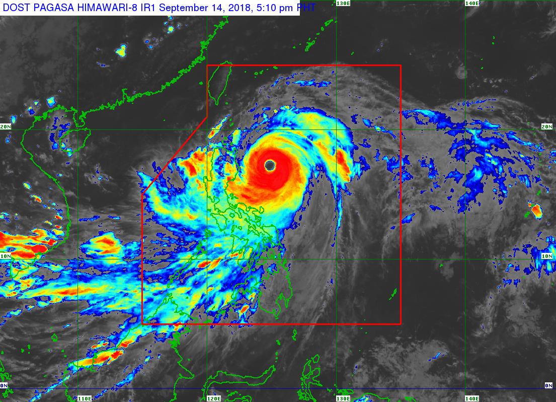 #OmpongPH | Signal No.4 itinaas na sa Cagayan at Northern Isabela